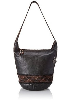 The SAK Heritage Bucket Shoulder Bag, Black, One Size