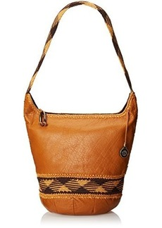 The SAK Heritage Bucket Shoulder Bag, Ochre, One Size