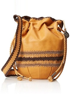 The Sak Heritage Drawstring Shoulder Bag, Ochre, One Size