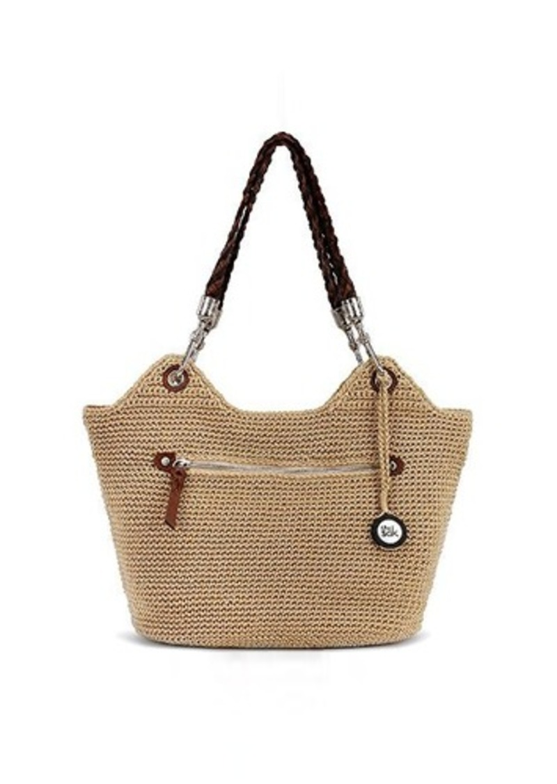 The Sak The Sak Indio Crochet Satchel Bag, Bamboo, One Size Handbags ...