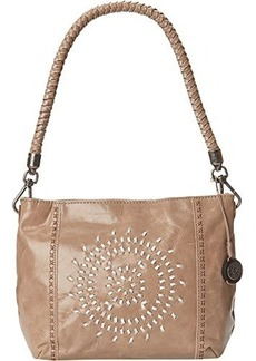 The Sak Indio Demi Shoulder Bag, Shitake Whipstitch, One Size