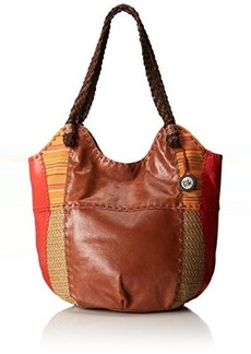 The Sak Indio Large Tote Shoulder Bag, Cayenne Patch, One Size