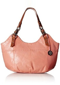 The Sak Indio Satchel Top Handle Bag, Apricot, One Size