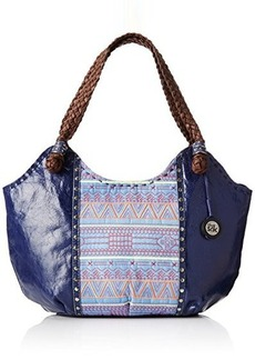 The Sak Indio Satchel Top Handle Bag, River Tribal, One Size