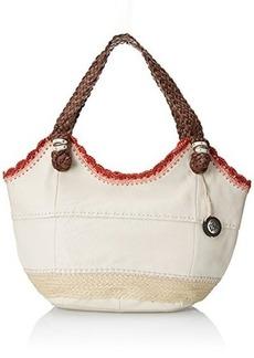 The Sak Indio Satchel Top Handle Bag, Stone Espadrille, One Size