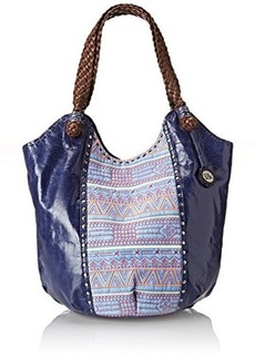The Sak Indio Tote Shoulder Bag, River Tribal, One Size