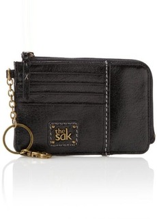 The Sak Iris Card Wallet Card Case, Black Onyx, One Size