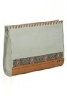 The Sak Iris Demi Clutch Shoulder Bag, Seafoam Beaded, One Size