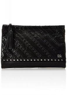 The Sak Iris Demi Leather Clutch