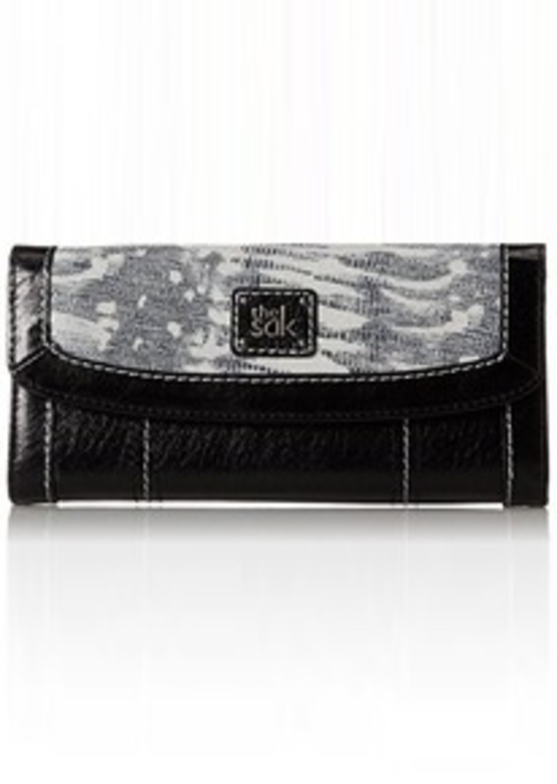 The Sak Iris Flap Trifold Wallet