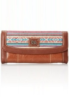 The Sak Iris Flap Wallet Trifold