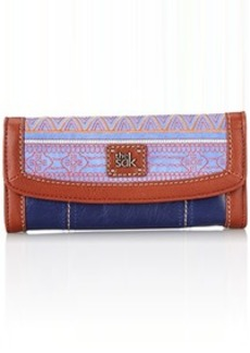 The Sak Iris Flap Wallet, River Tribal, One Size