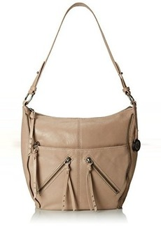 The Sak Iris Large Leather Hobo, Shitake Zipper, One Size