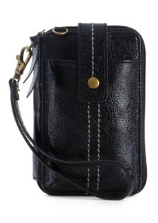 The Sak Iris Leather Smartphone Wristlet