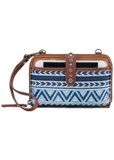 The Sak Iris Leather Tech Convertible Crossbody
