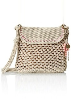 The Sak Kearny Cross Body Bag, Eggshell Bronze Sequin, One Size
