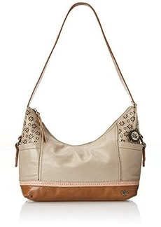 The Sak Kendra Hobo Shoulder Bag, Shiitake Floral Perforated, One Size