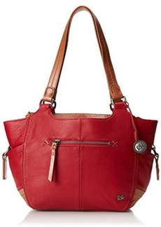 The Sak Kendra Satchel Bag, Cherry Block, One Size