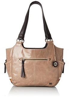 The Sak Kendra Satchel Top Handle Bag, Shiitake Stripe, One Size