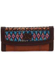 The Sak Leather Iris Flap Wallet