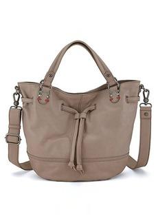 The Sak Mateo Drawstring Shoulder Bag, Shiitake, One Size