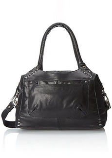 The Sak Mateo Satchel Top Handle Bag, Black, One Size