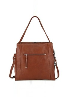 The Sak Mirada Tote Tote Tobacco Shruncken Leather One Size