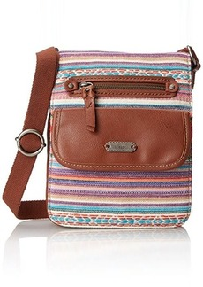 The Sak Pack Small Flap Messenger Cross Body Bag, Pink Loom, One Size