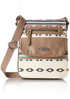 The Sak Pack Small Flap Messenger Cross Body Bag, Shitake Loom, One Size