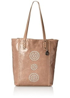 The Sak Palisade Tote Shoulder Bag, Shitake Whipstitch, One Size
