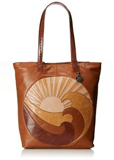 The Sak Palisade Tote Shoulder Bag, Patchwork Wave, One Size
