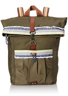 The Sak Sak Pack Nylon Backpack, Olive, One Size