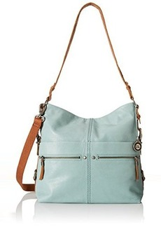 The Sak Sanibel Bucket Shoulder Bag, Cool Water, One Size