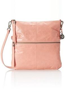 The Sak Sanibel Foldover Cross Body Bag, Apricot, One Size