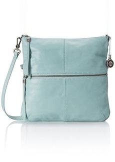 The Sak Sanibel Foldover Cross Body Bag, Cool Water, One Size