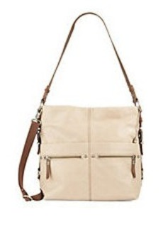 THE SAK Sanibel Leather Bucket Hobo Bag