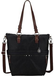The SAK Sanibel Tote Shoulder Bag,Black,One Size