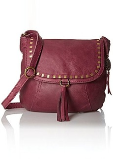 The Sak Serrano Saddle Cross Body Bag, Cabernet, One Size