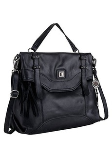 The Sak Sycamore Messenger Convertible Shoulder Bag, Black, One Size
