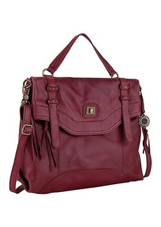 The Sak Sycamore Messenger Convertible Shoulder Bag, Cabernet, One Size