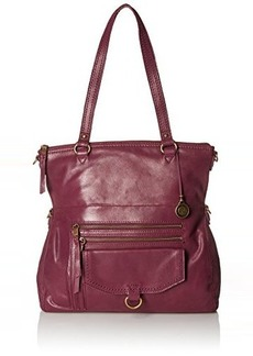 The Sak Venata Foldover Tote Convertible Cross Body Bag, Cabernet, One Size