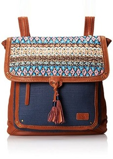 The Sak Ventura Convertible Backpack, Blue Tribal, One Size