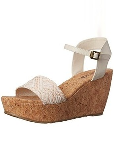 The SAK Women's Solo Straw Wedge Sandal