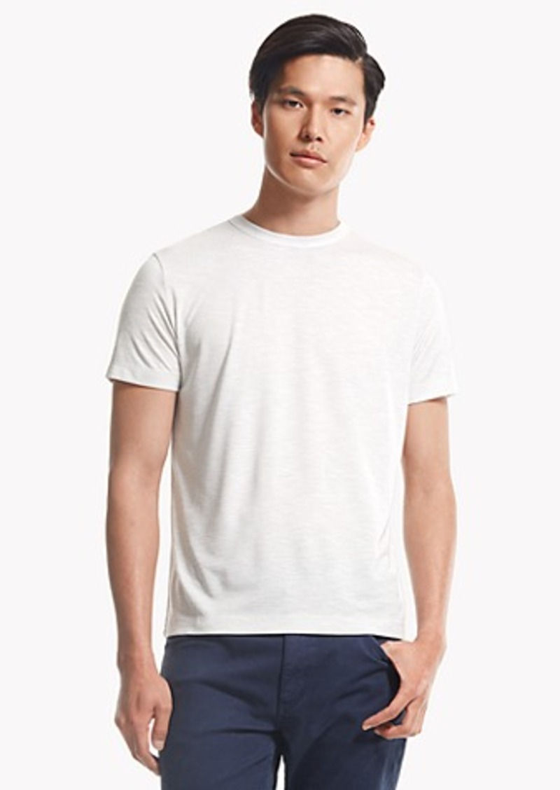 Theory Andrion Tee In Anemone B Stripe T Shirts Shop