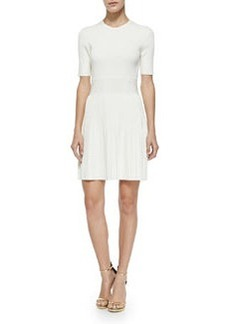 Callalee Pleated-Skirt Knit Dress   Callalee Pleated-Skirt Knit Dress