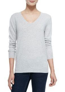 Cashmere Wynn V-Neck Pullover Sweater   Cashmere Wynn V-Neck Pullover Sweater