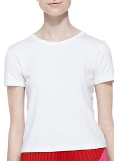 Cropped Crewneck Classic Tee   Cropped Crewneck Classic Tee