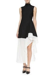 Dexas Two-Tone Asymmetric Dress   Dexas Two-Tone Asymmetric Dress