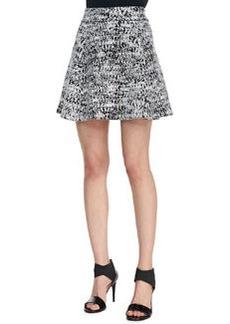 Doreene C Tweedscape A-Line Skirt   Doreene C Tweedscape A-Line Skirt