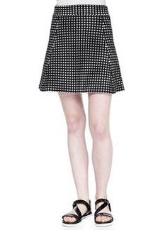 Doreene D Dot-Print A-Line Skirt   Doreene D Dot-Print A-Line Skirt